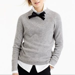 J. Crew Gayle Tie-Neck Sweater
